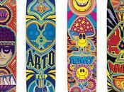 PinkyVision Flip Skateboards