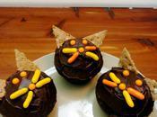 Cat-Themed Halloween Cupcakes