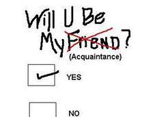 Friends Forever Acquaintances Now?