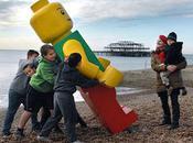 Giant Lego Washes Florida Beach