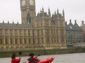 Kayaking Thames