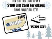 Enter $100 Gift Card eBags!