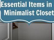 Essential Items Minimalist Closet