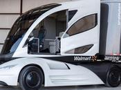 Walmart's Transport Truck Half Car/Half Train