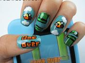Flappy Bird Nail Design