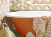 Inspiration: Using Color Bathroom