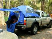 Said Roughing Rough? Truck Tents Camp Style