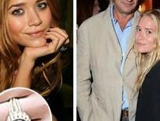 Mary -Kate Olsen Engaged French Boyfriend Olivier Sarkozy