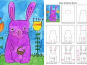 Draw Easter Bunny