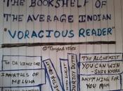 "Bookshelf Average Indian ""Voracious Reader"""
