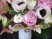 Bridal Bouquet with Spring Blooms