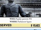 Playing Palmerston Card No.9 Political London Trump Game