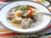 Norwegian Fiskesuppe Root Vegetable Chowder