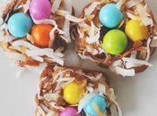 Chocolate Caramel Easter Nests