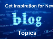 Places Find Inspiration Blog Topics