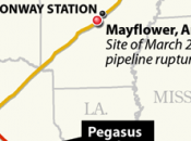 Exxon Reopen Ruptured Arkansas Pipeline