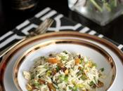 RECIPE Orzo Salad with Dried Apricots, Pistachios Ginger