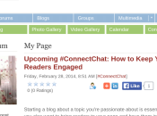 Excited Twitter Chat! Join Want Learn Strategies Your Blog!