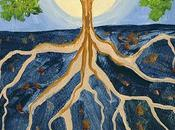 Four Tree Life Paintings