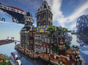 This Minecraft Replica BioShock Infinite's Floating City Columbia Astonishing