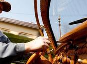 Wooden Volkswagen Beetle Made Bosnian Pensioner