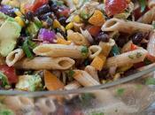 Spicy Mexican Pasta Salad Crowd