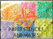 Recycled Projects Paper Stencils Masks