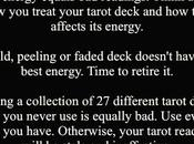 Tarot #34: Treat Your Cards Right