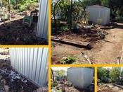Chook Food Shed Gets Garden