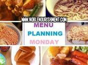 Menu Plan Monday 19th 2014