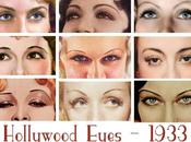 1930s Beauty Style Hollywood Eyes