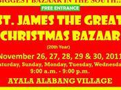 Begins Tomorrow Nov. 26th St.James Cuenca Bazaar Ayala Alabang, FREE Entrance!