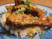 {Shorshe Maache} Classic Bengali Preparation Fish Simmered Lightly Spiced Mustard Yogurt Gravy