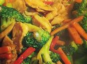 Homemade Chicken Veggie Stir-Fry