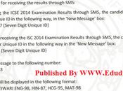 CISCE Exam Results 2014 Class 12th Indian School Certificate Result Declared