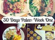 Days Paleo: Week Recap