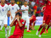 Spain Knocked 2014 World Chile