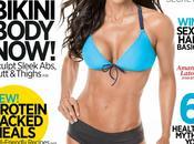 Amanda Latona Muscle Fitness Hers Magazine, July/August 2014