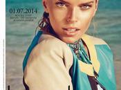 Viktoria Halenarova Marie Claire Magazine, Russia, July 2014