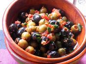 Kind Finger Food Easy Peasy Briny Olives with Garlic Tomatoes