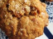 Chewy Apricot Oatmeal Cookies with Toasted Almonds (and Salt Top)