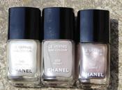 Chanel Vernis Swatches Neutral Shades (Attraction, Frenzy, Quartz)