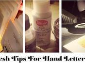 Fresh Tips Hand Lettering