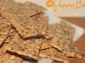 Sesame Linseed Savoury Crackers Recipe!