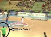 Chicks Doing Again: Basketball Player Shoots Wrong Hoop Both Teams Forget What Side They're