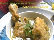 Pollo Salsa Verde Chicken Roasted Tomatillo Green Sauce