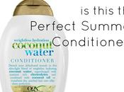 Summer Hair Rave: Coconut Water Conditioner
