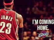 King James Coming Home♪ He's Back Where Belongs