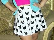 Kitty Skirt! Skirt, Outfits!
