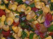 Chipotle Inspired Corn Salsa
